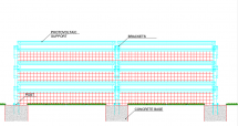 Solar fence constr 2